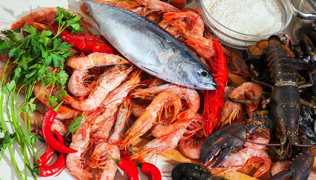 menu degustazione pesce diecimilatrentasei